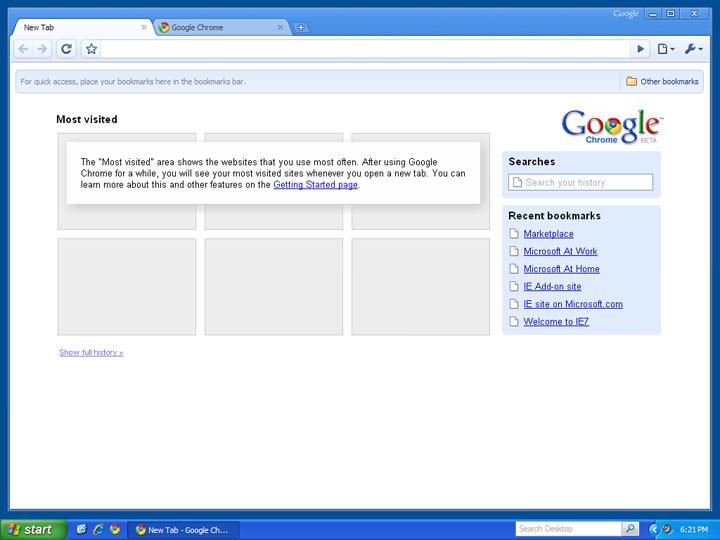 Chrome étend le support pour Windows XP jusqu'en avril 2015