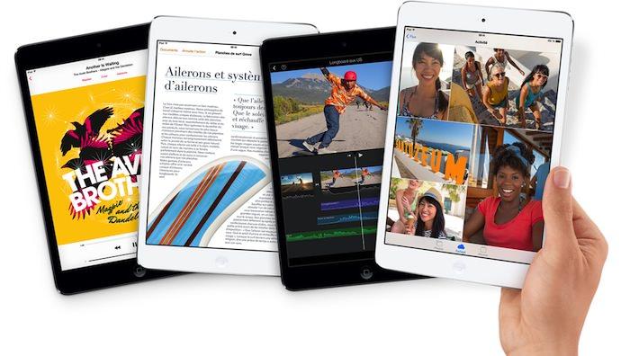 L'écran Retina était très attendu sur l'iPad Mini