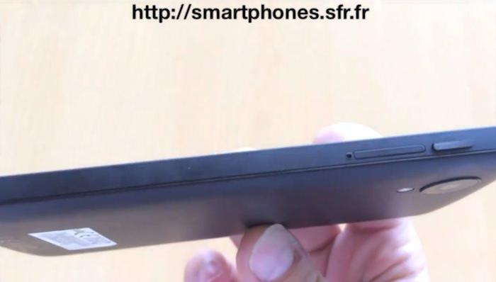 Est-ce la prise en main du prochain Nexus 5 de Google dans cette vidéo récupérée de chez SFR ?