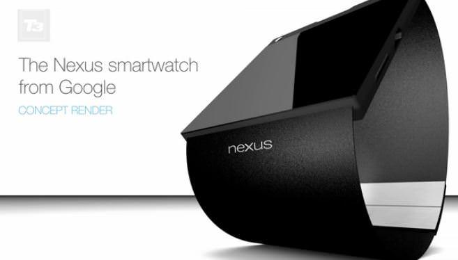 Concept d'une smartwatch Google