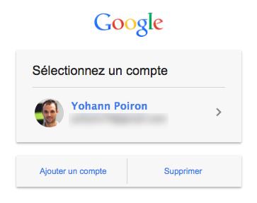 La nouvelle page de connexion de Gmail plus en adéquation avec la conception mobile