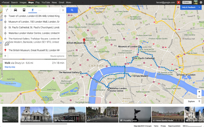 Un peu plus de Google Now au sein de Google Maps
