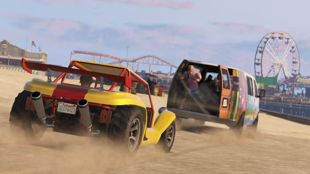 GTA 5 : GTA Online disposera de son premier add-on en novembre