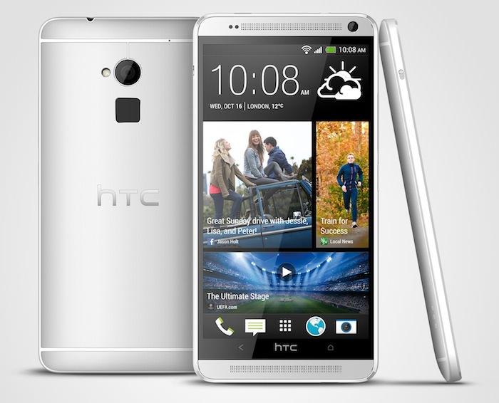HTC présente son One Max, une phablette de 5,9 pouces et un capteur d'empreintes digitales