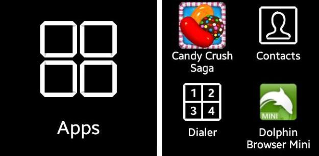 La Galaxy Gear peut embarquer beaucoup d'applications Android avec un peu de malice