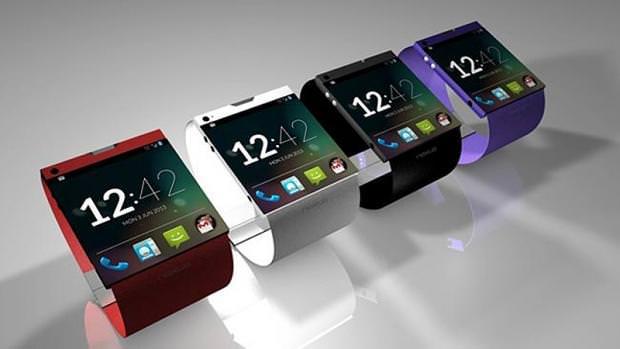 Concept d'une smartwatch Google Gem