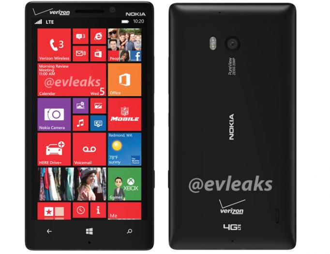 Serait-ce une image de presse du Lumia 929 ?