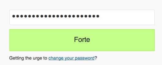 Vous devrez désormais disposer d'un mot de passe robuste