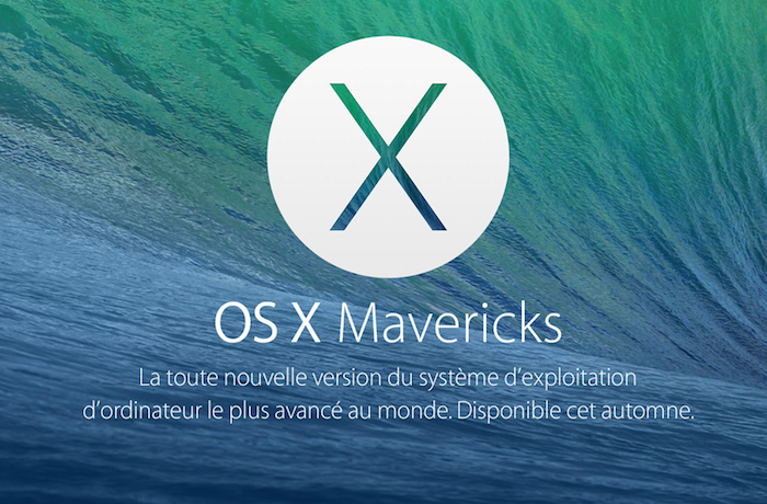 OS X Mavericks sera gratuit, et disponible dès aujourd'hui