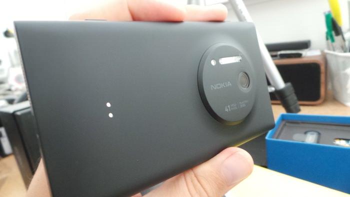 Le 1020 ressemble à tous les autres Lumia