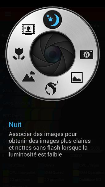 La bague du S4 Zoom permet d'accéder à un menu dédié à la photo