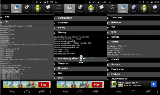Screenshots Nexus 5 - 1