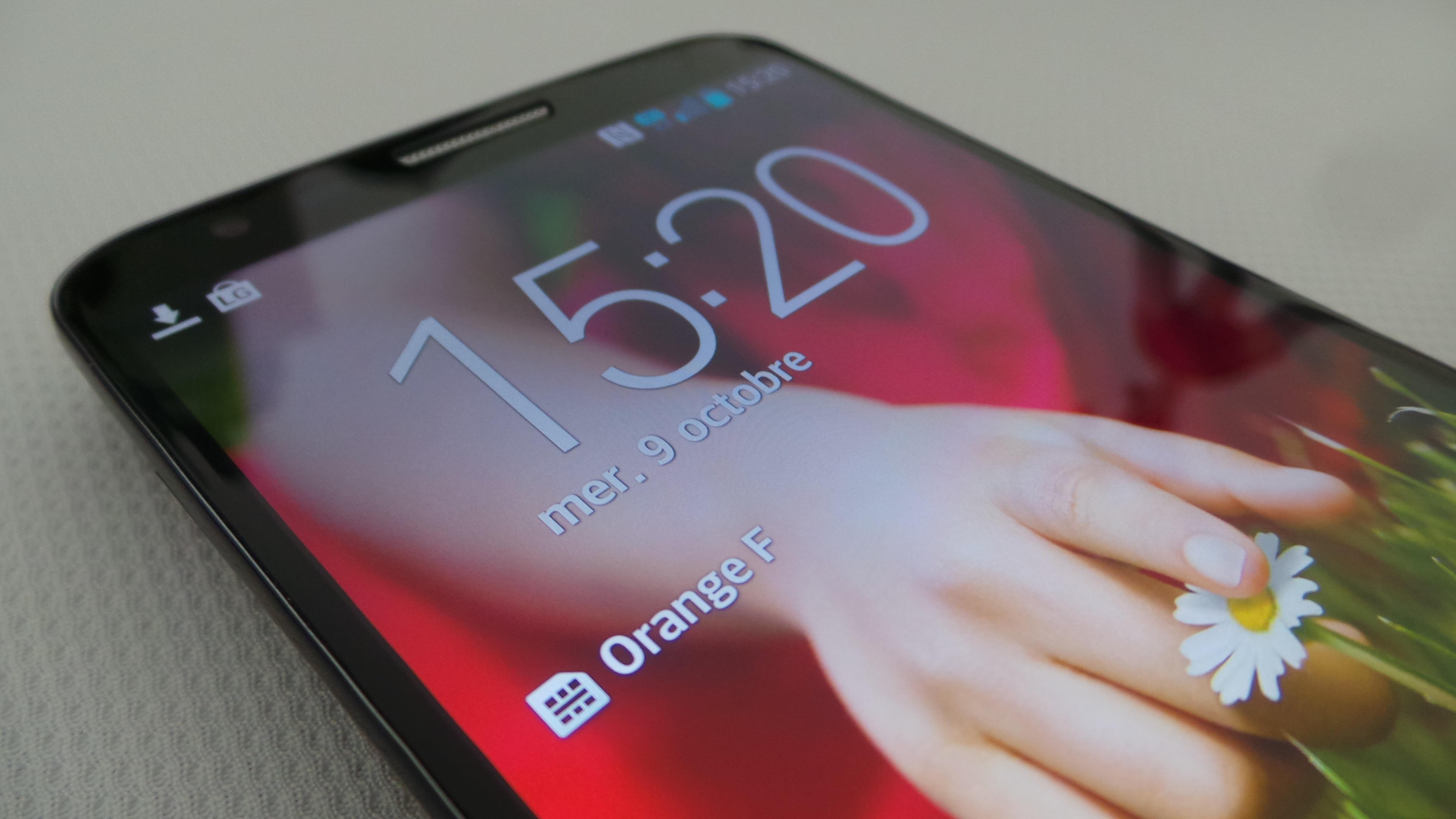 L'écran du LG G2 est juste sublime