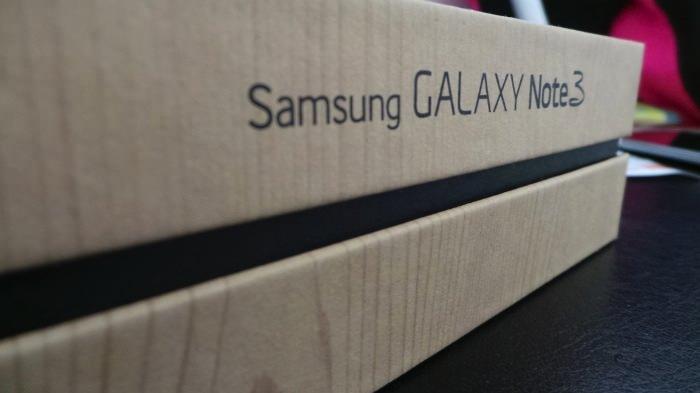 Unboxing et prise en main du Samsung Galaxy Note 3, la nouvelle phablette