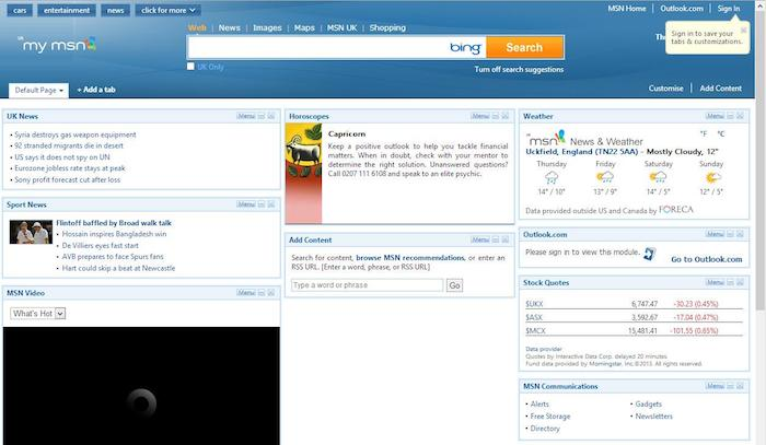 My MSN