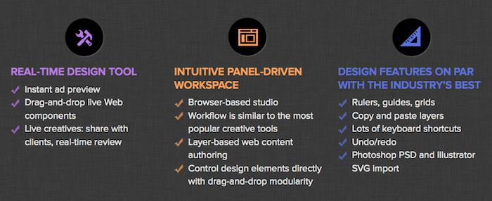 Flite lance un outil en ligne nommé 'Design Studio' pour améliorer les publicités HTML5