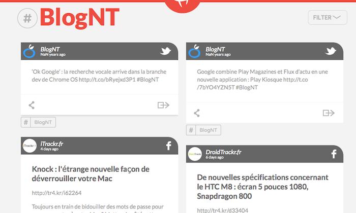 Recherche du hashtag #BlogNT
