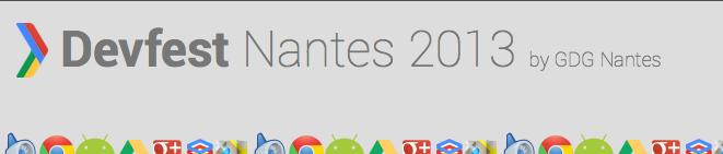 Le DevFest Nantes by Google Developers Group c'est aujourd'hui