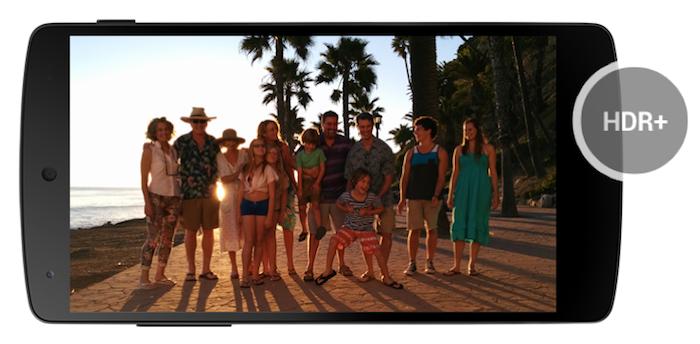 Ajout du mode HDR+ dans le Nexus 5