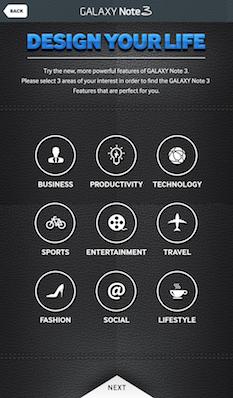 'Note 3 Experience' vous permet de tester les fonctionnalités du Galaxy Note 3 sur votre dispositif Android