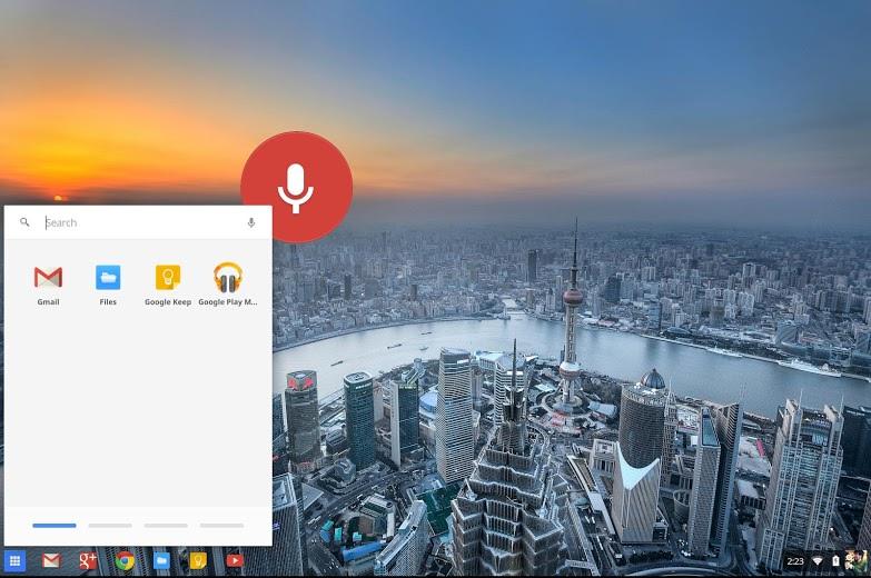 'Ok Google' : la recherche vocale arrive dans la branche dev de Chrome OS