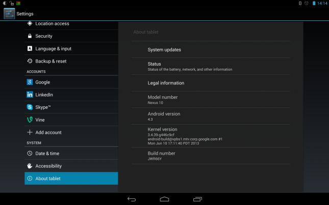 Passez votre Nexus 10 à Android 4.4 KitKat maintenant !