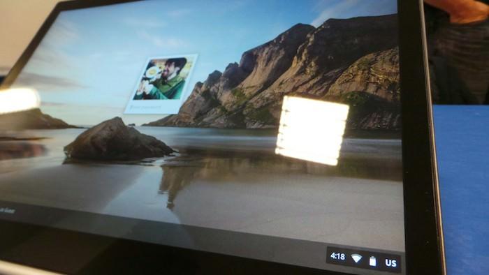 Bien évidemment on retrouve Chrome OS