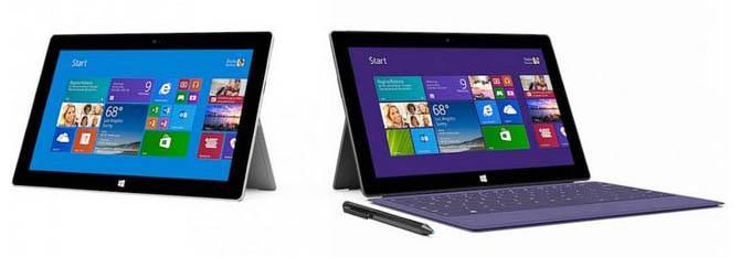 Surface : Microsoft s'attaque à l'iPad Air et la Galaxy Tab 3 dans une vague de publicités