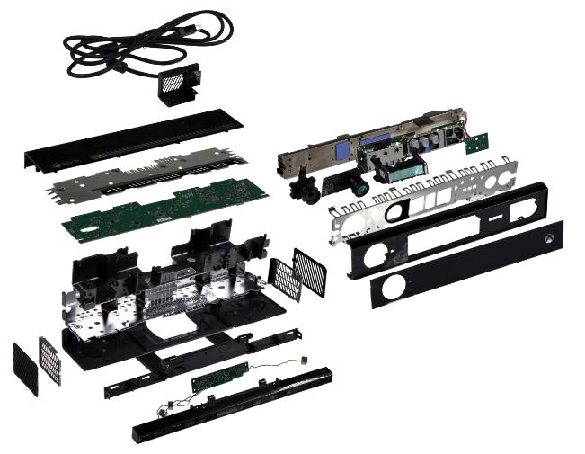 Voici tous les composants de la Xbox One