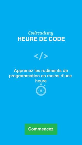 Codecademy publie l'application Hour of Code sur iOS