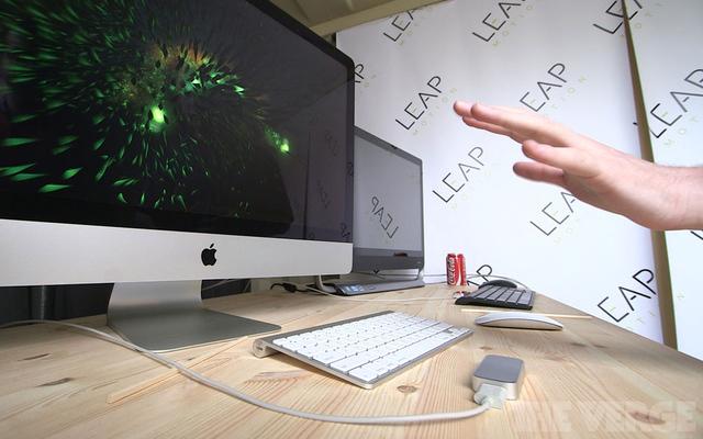 Les contrôles gestuelles 3D Leap Motion arriveront sur smartphones et tablettes en 2014
