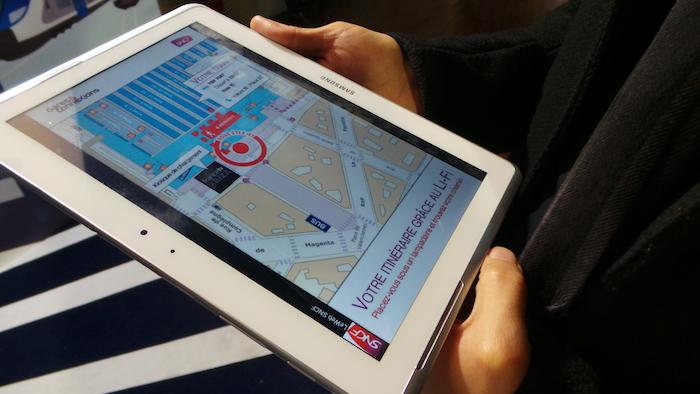 La SNCF a un projet pour utiliser le Li-Fi