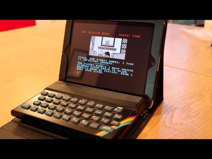 Transformez votre iPad en un ordinateur ZX Spectrum des années 80 avec ce clavier