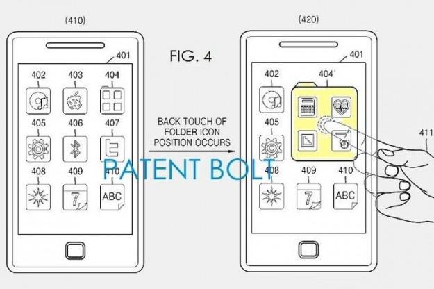 Un brevet de Samsung pour des coques transparentes et des écrans tactiles des deux côtés