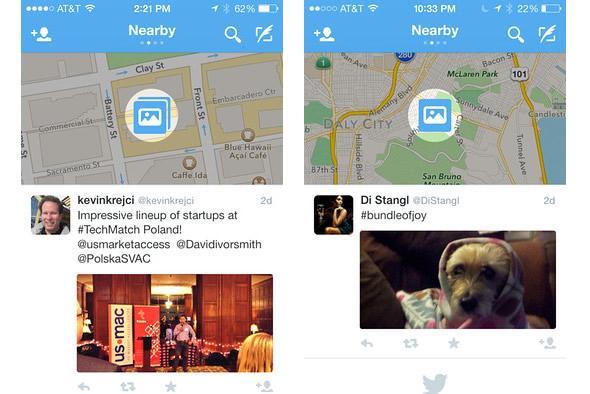 Un flux 'local' sur Twitter va montrer vos tweets dans votre région