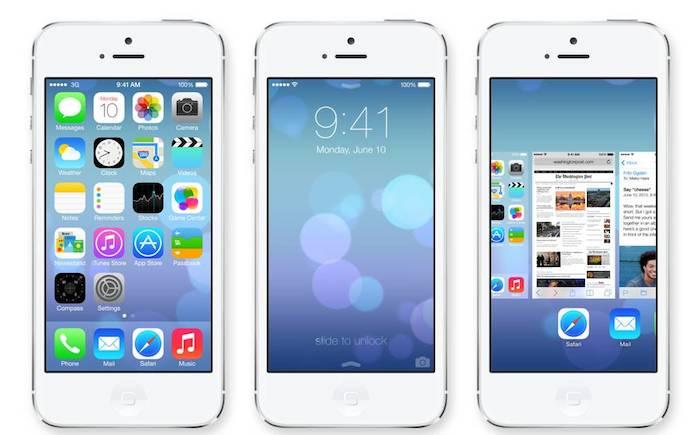 80% de tous les appareils iOS actifs disposent de iOS 7