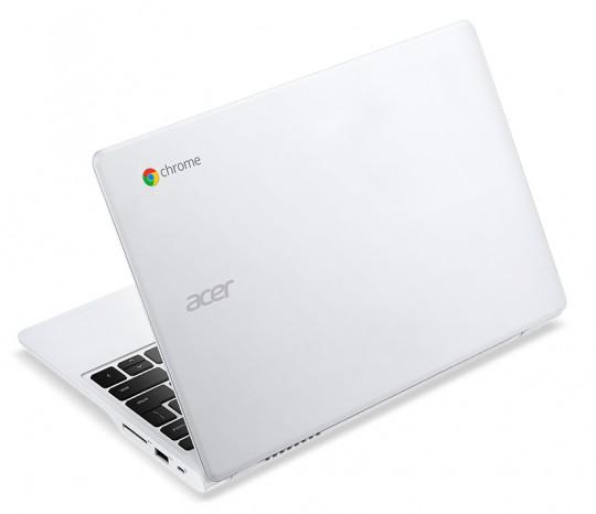 Acer Chromebook C720P-2600 - vue de dos
