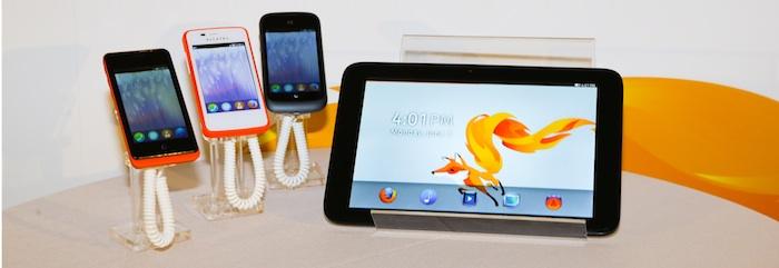 Firefox OS pourrait prochainement arriver sur les tablettes