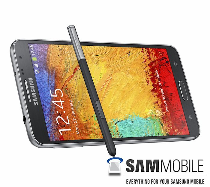 Galaxy Note 3 Neo : Vue de face