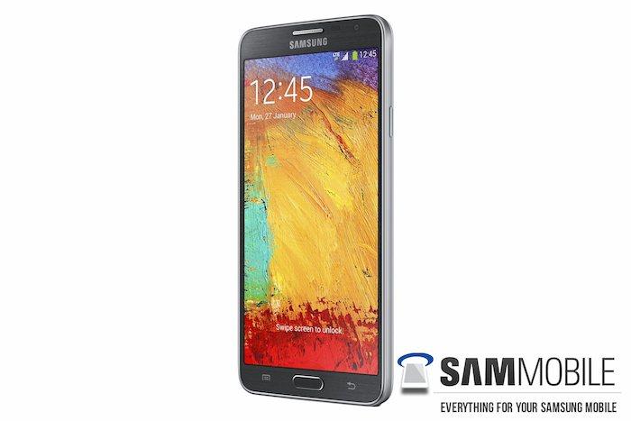Galaxy Note 3 Neo : Vue de 3/4