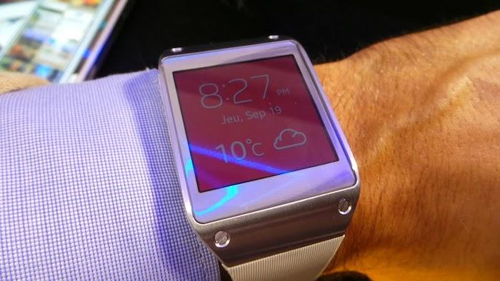 La Galaxy Gear de Samsung n'a pas réellement su convaincre