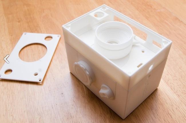 Boîtier imprimé en 3D