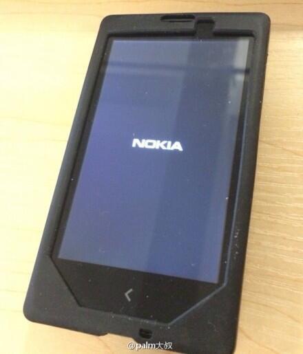 Nokia Normandy : une image du prototype en fuite sur la toile
