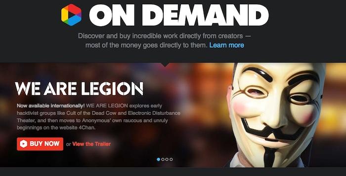 Vimeo aide les cinéastes avec une campagne de fonds de 500 000 dollars