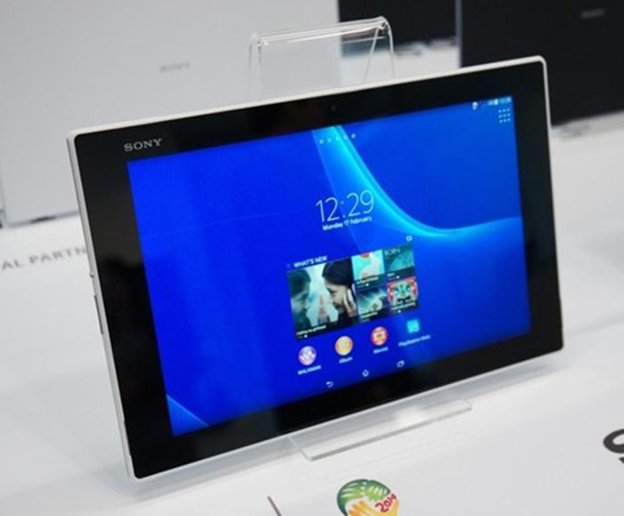Écran de la Xperia Tablet Z2