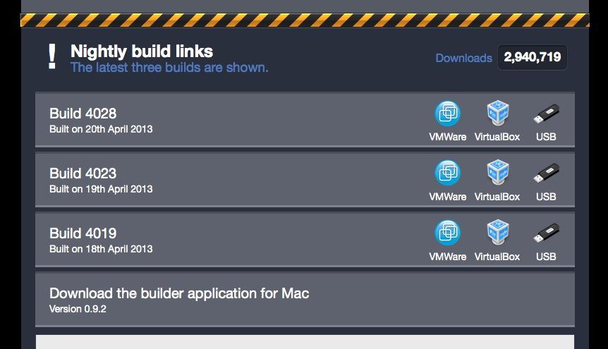 Chrome OS Build 4028