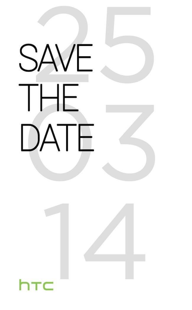 HTC M8 : le prochain smartphone Android de HTC sera annoncé le 25 mars