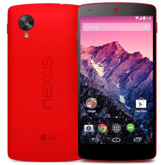 Nexus 5 rouge
