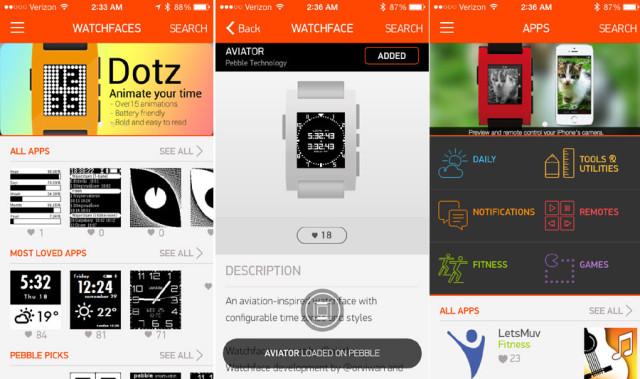 Le Pebble App Store ouvre ses portes aujourd'hui