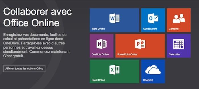 Les Office Web Apps rebaptisées en Office Online